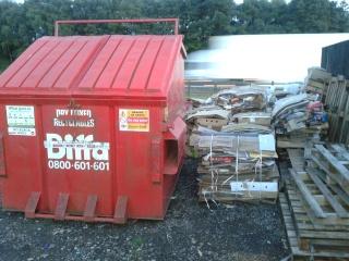 welcome break bins